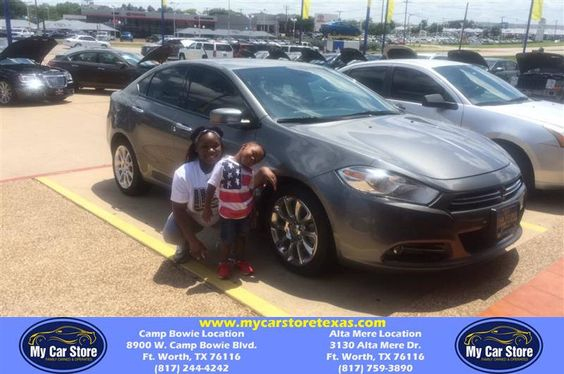 https://flic.kr/p/HzhykV | Congratulations Michael on your #Dodge #Dart from Josh Pedroza at My Car Store! | deliverymaxx.com/DealerReviews.aspx?DealerCode=OUVL
