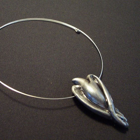 Silver Rising Phoenix Neckwire | Flickr - Photo Sharing!