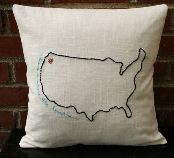 I just love this for a gift or for my own home. My heart is in CA with my family.