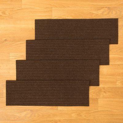 Natural Area Rugs Halton Chocolate Stair Tread