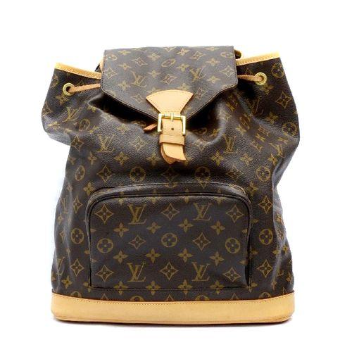 Louis Vuitton Montsouris GM Monogram Unisex Backpack Bag