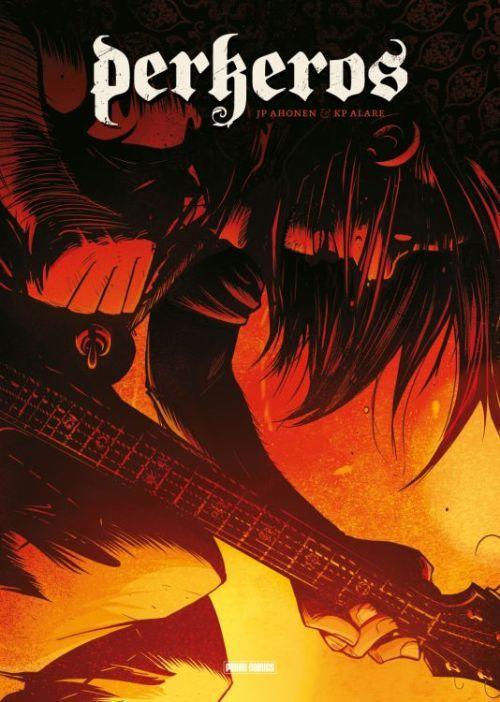 """Aufgepasst Metalheads! """"Perkeros"""" (Panini Comics) nimmt sich ein spannendes Grundthema vor: die Musik bzw. genauer gesagt den Metal.Was wir davon halten ? Schaut es euch an ->  http://www.deepground.de/book-review/perkeros/"""