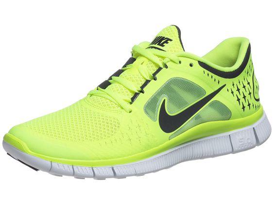 nike free run 3 neon yellow