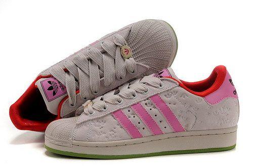 Dames Adidas Superstar Floret Beige Pink