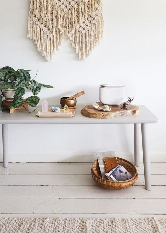 How To Style :: A Calm & Minimal Meditation Space - coco kelley coco kelley