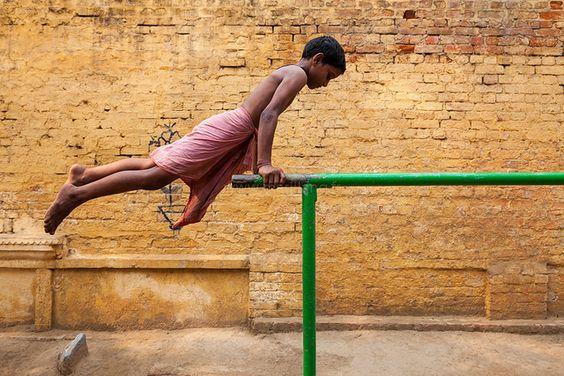Gym, Varanasi by Marji Lang, via Flickr