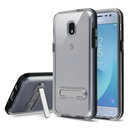 Airium Hybrid Protector Cover With Magnetic Metal Stand For Samsung J337 Galaxy J3 2018 Black Transparent Clear In 2021 Samsung Galaxy Samsung Galaxy J3 Galaxy J3