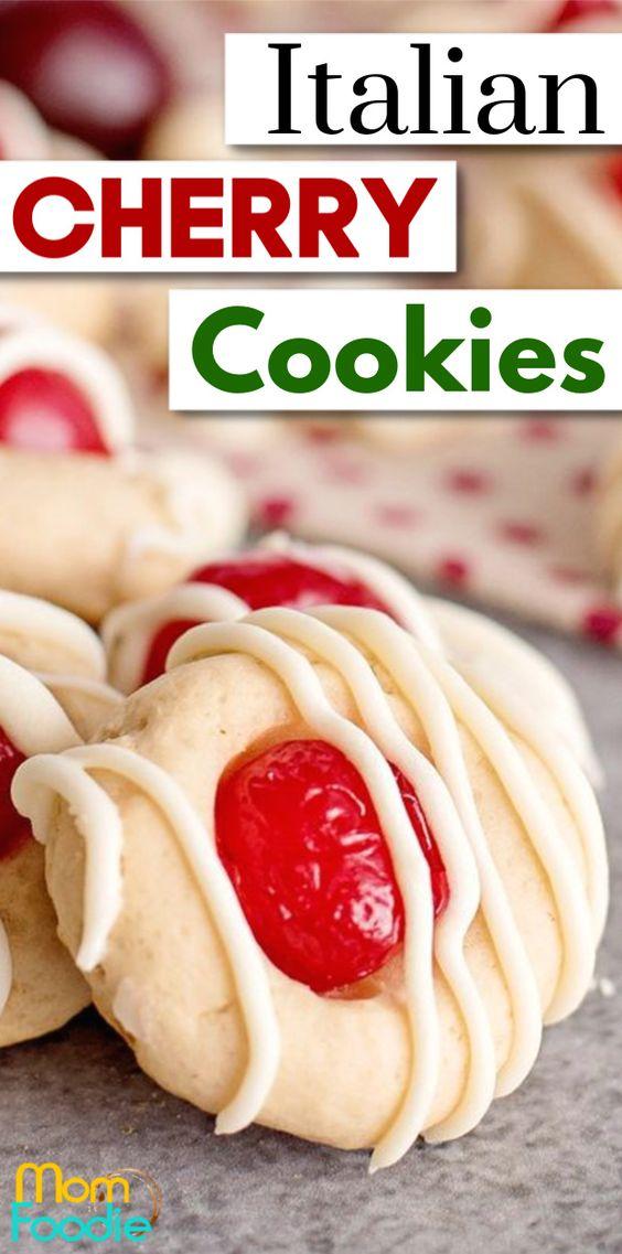 Italian Cherry Cookies
