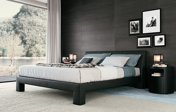 Teo bed by Italian Poliform will make your night sleep or midday - mondo paolo schlafzimmer