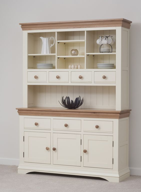 Modern Country Style Anne Turner S Cottage Living Kitchen: Country Cottage Painted Funiture Cabinet