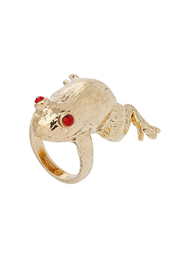 Froggy ring, Topshop