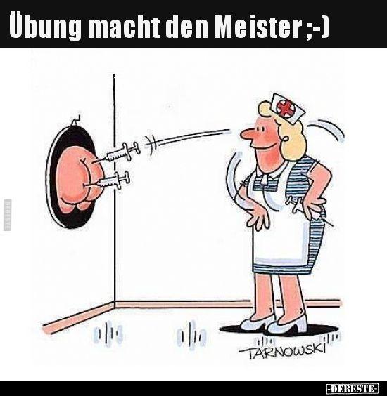 Ubung Macht Den Meister Lustige Bilder Spruche Witze Echt Lustig Lustig Lustige Bilder Schwester Humor