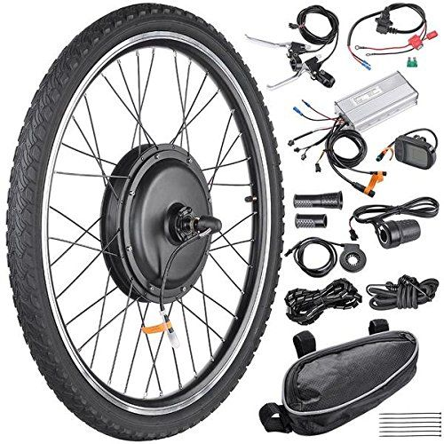 48 Volt 1000 Watt 26 Inch Electric Bicycle Conversion Motor Kit