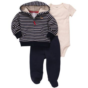 3-Piece Cardigan Set | Newborn | Going home outfit?