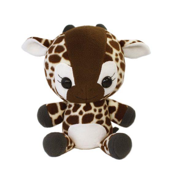 pdf sewing pattern giraffe plush cute easy cute kawaii diy stuffed animal large cuddly. Black Bedroom Furniture Sets. Home Design Ideas