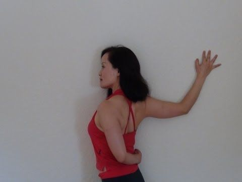 Yoga for relieving shoulder tension and healing frozen shoulders - YouTube