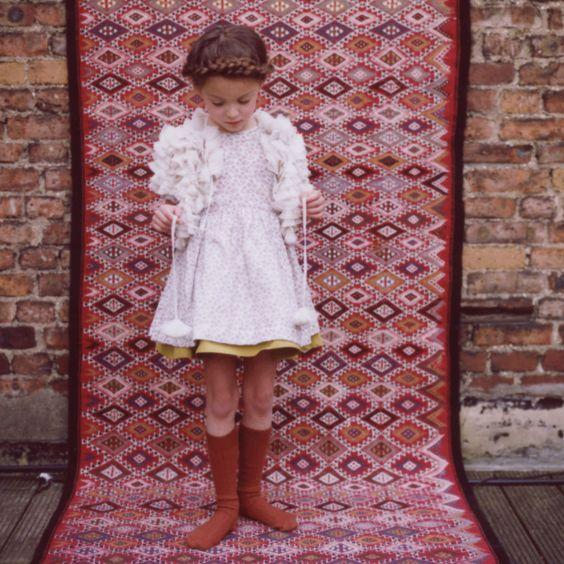 Kids fashion #papier mache #deborah sfez