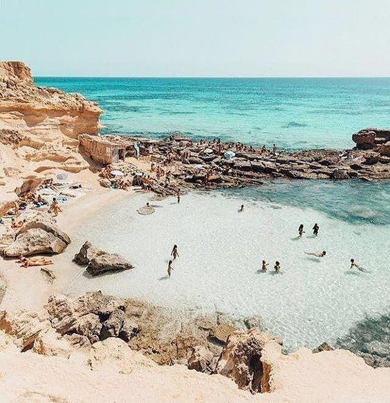 Formentera playa de sete illetes