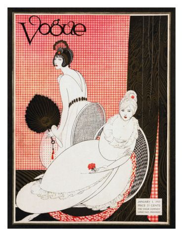 Vogue Cover - January 1913
