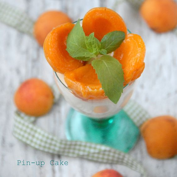 Roasted Apricot And Lavender Panna Cottas Recipe — Dishmaps