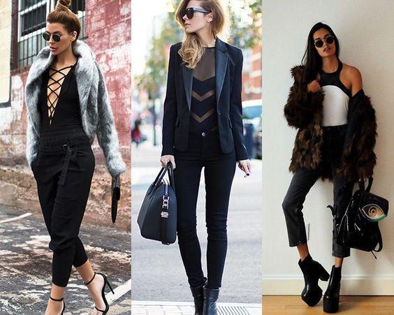 Opções de look com body para usar no outono e inverno 2016