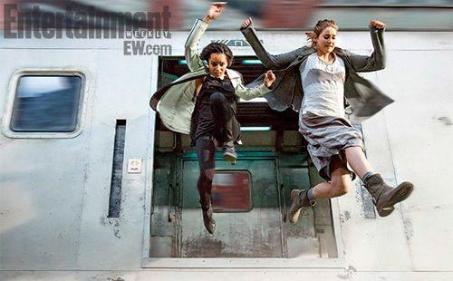 'Divergent': Shailene Woodley and Zoë Kravitz