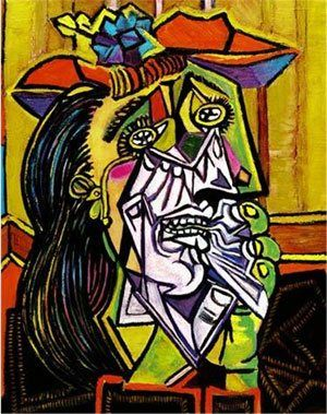 Weeping Woman by Picasso.