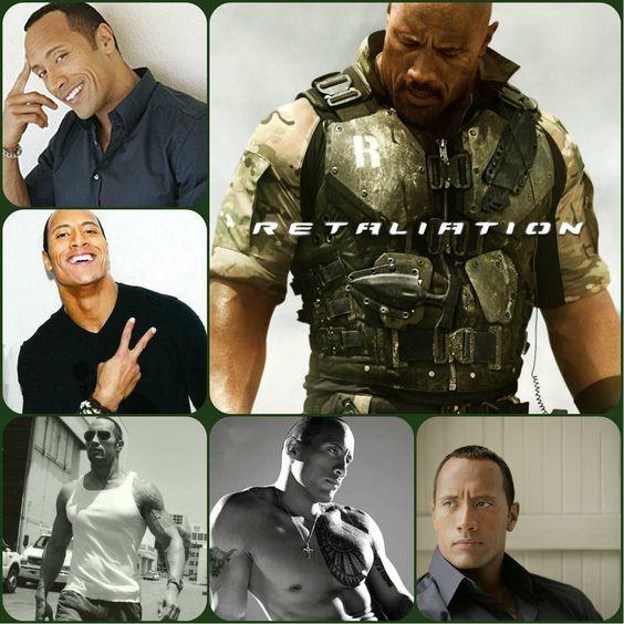 El actor y luchador profesional, Dwayne Johnson, más conocido como ''The Rock''.