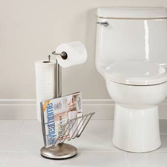 Free Standing Toilet Paper Holder With Storage Free Standing Toilet Paper Holder Toilet Paper Holder Wall Mounted Toilet