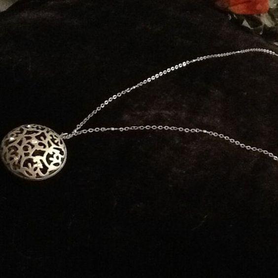 Retro Punk Pendant w/ Long Necklace by KaylaDesignCo on Etsy, $13.99