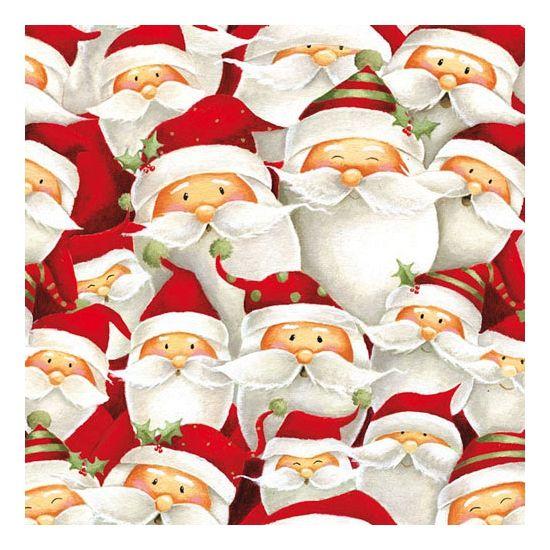 Kerstmannetjes servetten 20 stuks. Papieren servetten bedrukt met plaatjes van…
