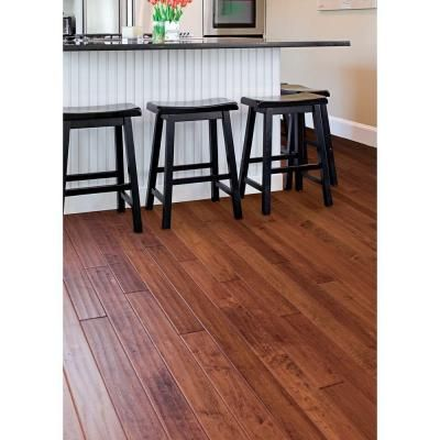 hardwood flooring handscraped maple floors home legend hand scraped maple modena x in wide x random length solid hardwood flooring sq ft case elegant and beautiful this earth friendly hand