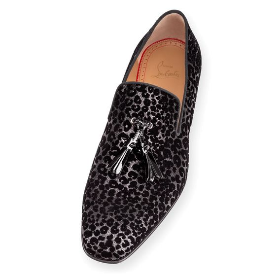 louboutin shoe prices - Men Shoes - Dandelion Tassel Flat Glitter Leo - Christian ...