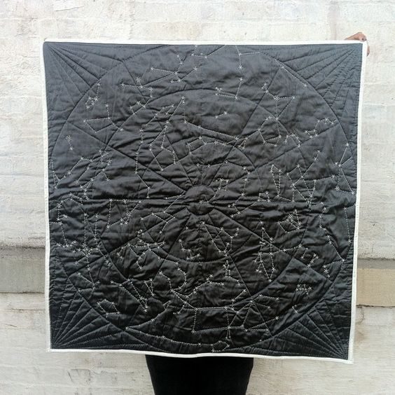 DIY Constellation Quilt