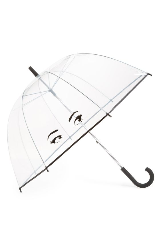 kate spade new york clear eyes umbrella