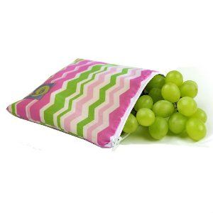 Itzy Ritzy Snack Happened Reusable Snack Bag