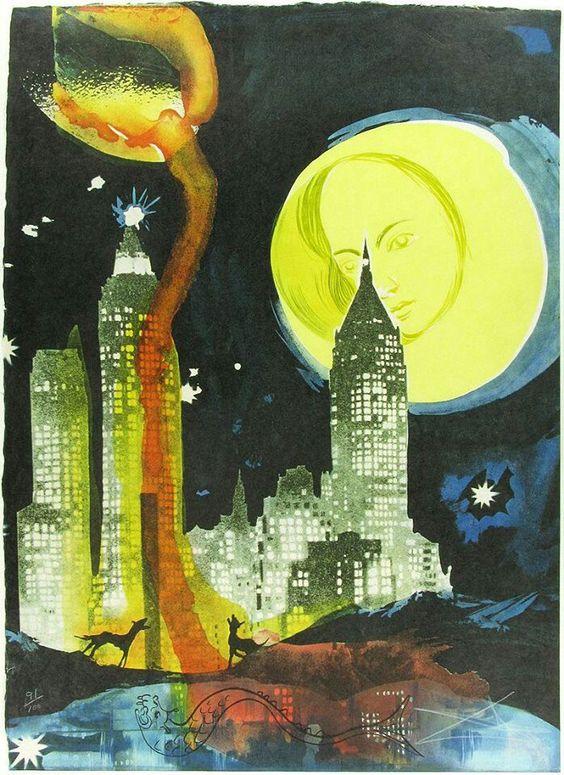 Dali.....Manhattan skyline