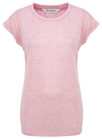 Pink Salt and Pepper Tee