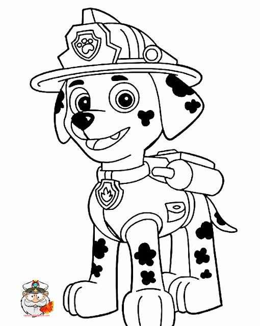24 Paw Patrol Chase Coloring Page 2020 Paw Patrol Coloring