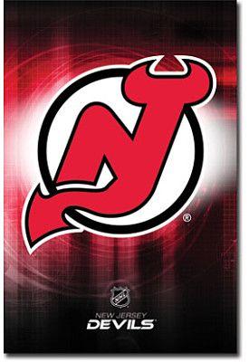 Trends New Jersey Devils Team Logo Poster
