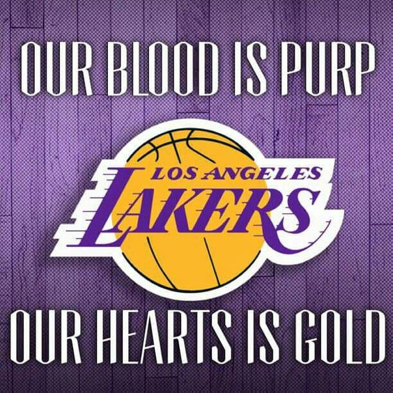 Our blood is Purp & Our Heart is Gold★WorlWideLakerGang4Life Join us on facebook! Love dem Lakers!!
