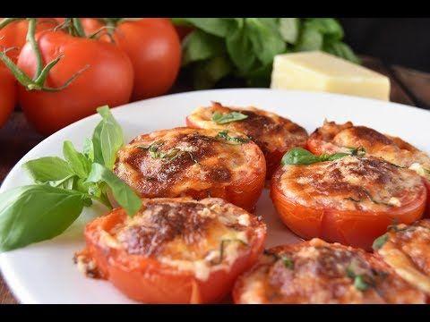 Tomates Asados Con Parmesano Recetas Saludables Tomates