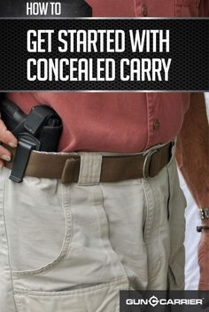 Concealed Carry When New | Gun Owner Tips and Ideas by Gun Carrier at guncarrier.com/...
