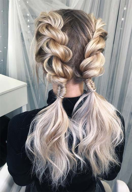 Long Hair Braids Braided Hairstyles For Long Hair Double Braid Twist Longhair Braids Braidedha Braids For Long Hair Cool Braid Hairstyles Long Hair Styles