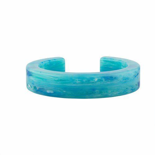 Blue Pendant Cuff