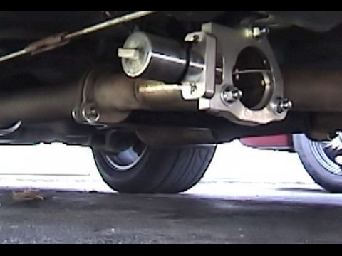 crown vic electric exhaust cutouts