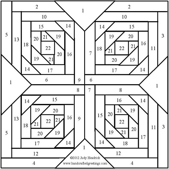 Quilting Template Paper : Iris folding pattern, Needlepoint stitches and Quilting patterns on Pinterest
