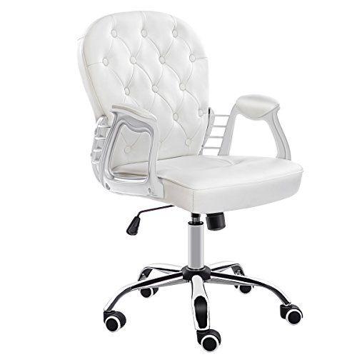 Jl Comfurni Office Chair Faux Leather Armchair Swivel Adj Https Www Amazon Co Uk Dp B0714dqrk Computer Desks For Home Desk Chair Home Office Computer Desk
