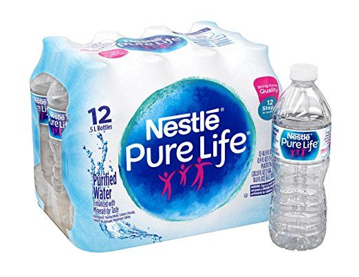 Nestle Pure Life Purified Water 12 Count Only 2 23 Nestle Pure Life Nestle Pure Life Water Pure Products