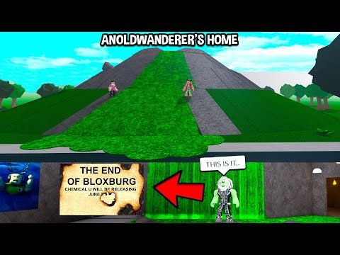 We Found Anoldwanderer S Evil Plan The End Of Bloxburg Is Coming